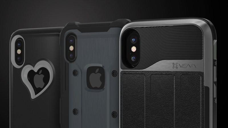 Vena family of iPhone X cases, from stylish to rugged
