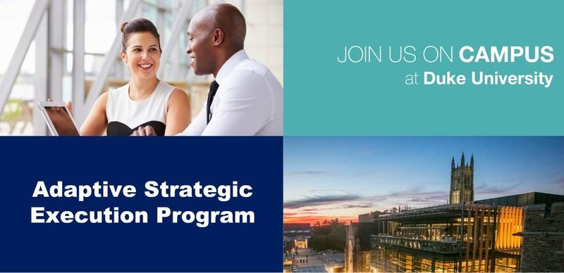 Adaptive Strategic Execution Program