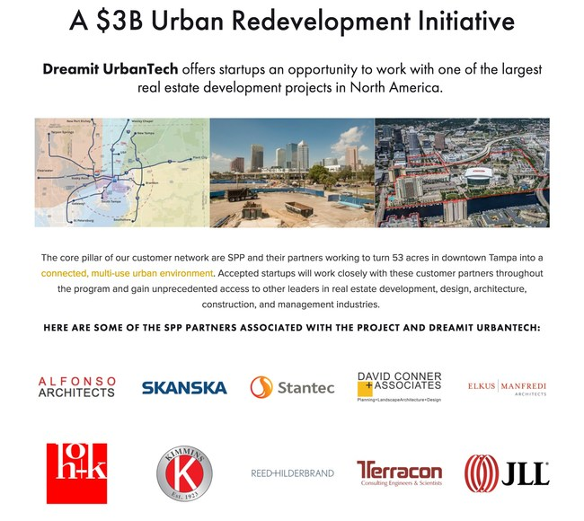 Tampa Bay Waterfront Redevelopment Project and Project Team