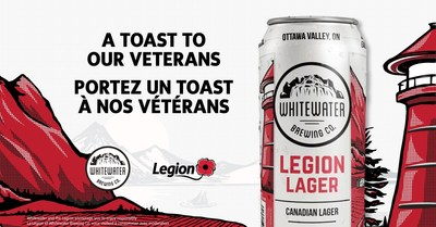 Legion Lager (CNW Group/The Royal Canadian Legion Dominion Command)