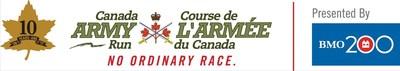 Logo: Canada Army Run (CNW Group/The Royal Canadian Legion Dominion Command)