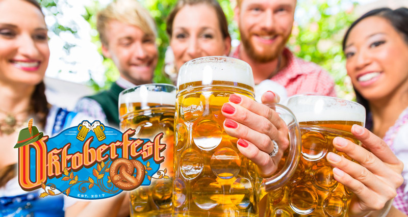 Oktoberfest features traditional German food and entertainment