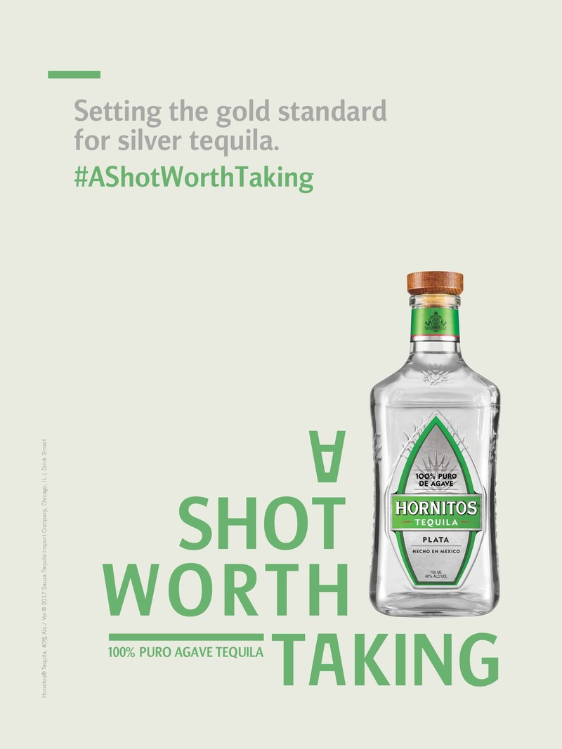 "Hornitos(R) Tequila new ""A Shot Worth Taking"" marketing campaign highlights the extraordinary things that can happen when people are willing to ""take a shot."""