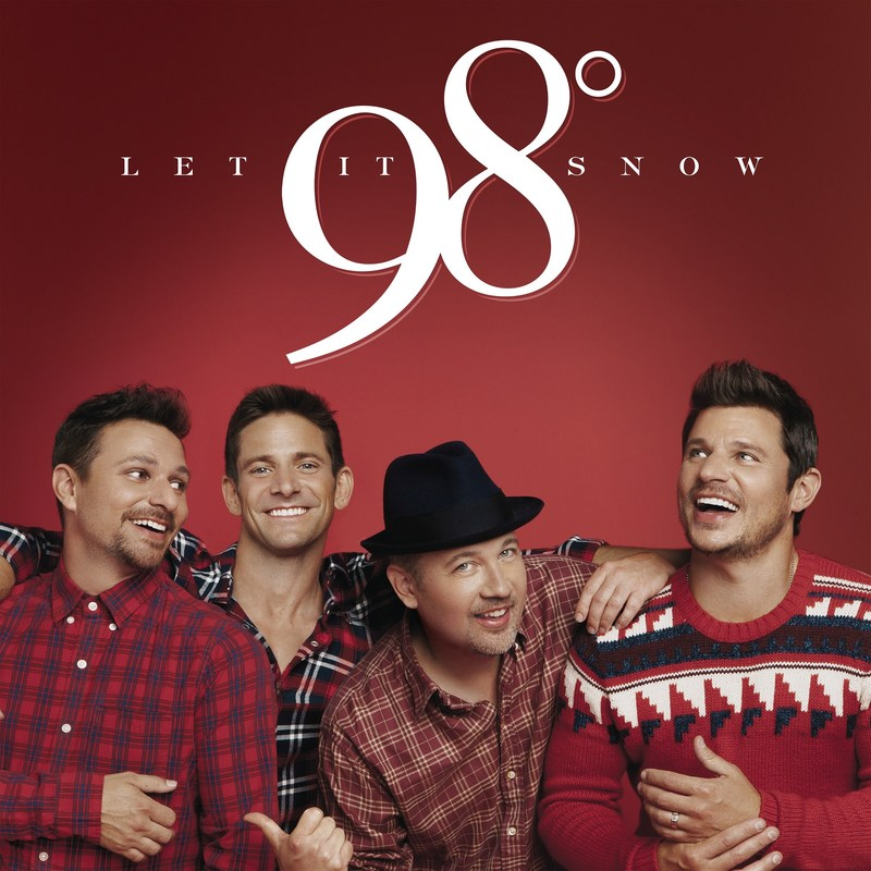 """98° TO RELEASE 'LET IT SNOW' ALBUM THIS FALL. FIRST NEW CHRISTMAS ALBUM IN 18 YEARS FEATURES NEW ORIGINAL SONG """"SEASON OF LOVE."""" CHRISTMAS TOUR KICKS OFF NOVEMBER 9."""