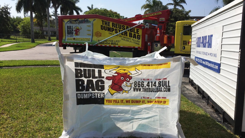 BullBags hold up to 4500lbs and customers only pay for the HEIGHT not weight to which they fill the bags. Guaranteed for life- they are emptied