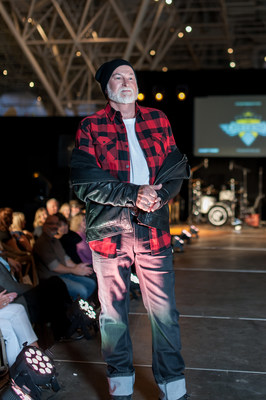 Models from Telus Ride for Dad strutted down the runway in Giant Tiger's new menswear lines (CNW Group/Giant Tiger Stores Limited)