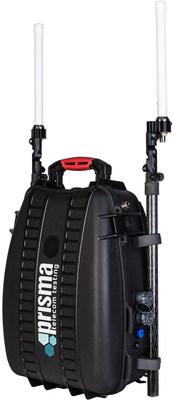 EmergencyNET – the emergency network that fits in a backpack (PRNewsfoto/PRISMA Telecom Testing)
