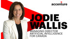 Wallis will drive Accenture's collaboration with business partners, government and academia in the AI ecosystem, at a time when organizations increasingly are turning to AI as the predominant way to do business. (CNW Group/Accenture)
