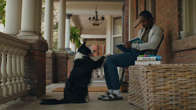 "A touching scene from BB&T's new brand campaign spot ""Attention."""