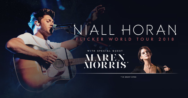 """Niall Horan Announces US & Canadian Dates As Part Of His """"Flicker World Tour 2018."""""""