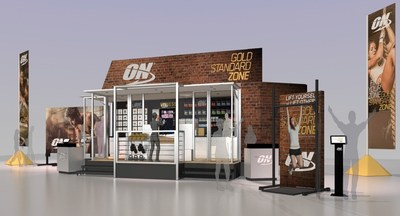 "The Optimum Nutrition ""Gold Standard Zone"" mobile experience is designed to engage, inform and encourage people trying to reach fitness goals."