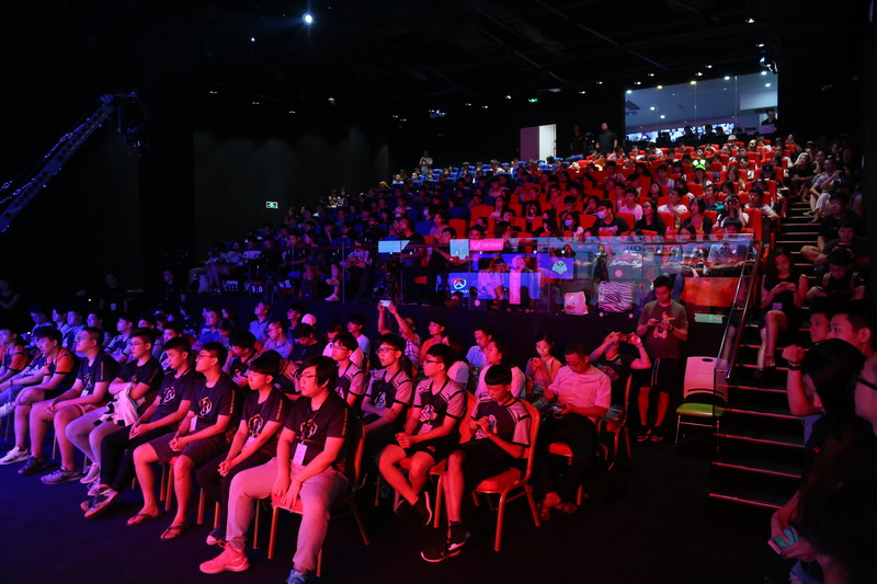 Allied Esports SEG Arena, Shenzhen, Sept. 2017