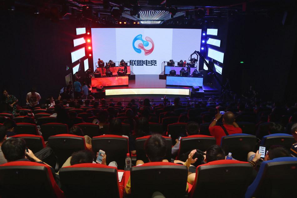Allied Esports SEG Arena, Shenzhen, Sept. 2017