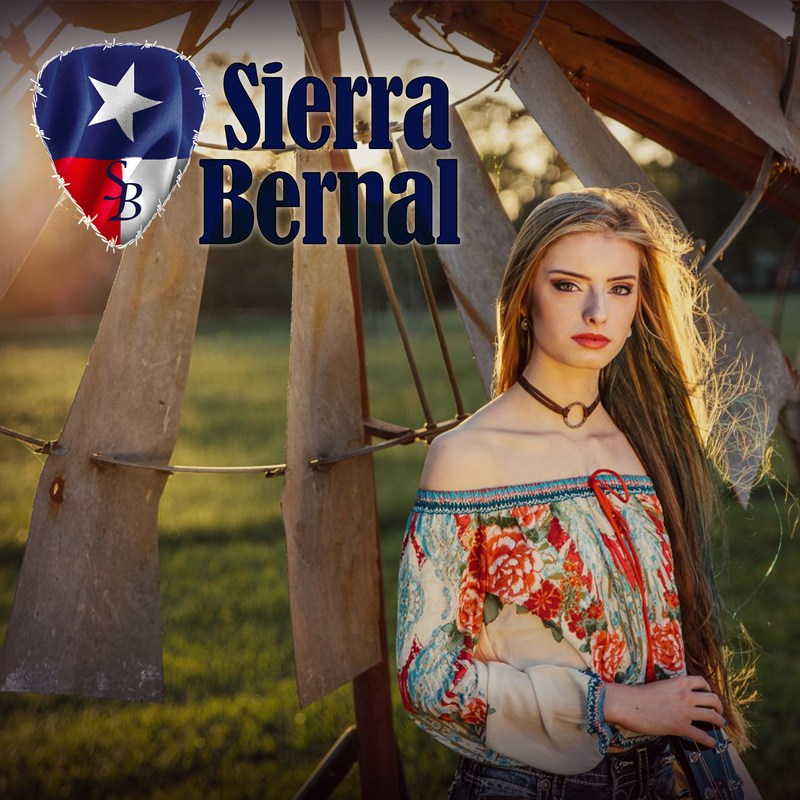 Sierra Bernal, CMA & Texas Country Music Artist (PRNewsfoto/Sierra Bernal)