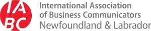 IABC Newfoundland and Labrador Chapter Logo (CNW Group/IABC/Newfoundland and Labrador)