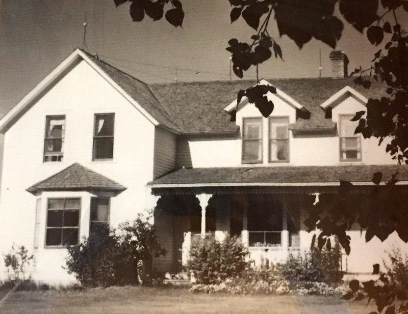 Circa 1935, settled on original 2,000 acre homestead, 2 miles North of Carseland, AB