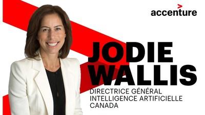 Wallis sera responsable de faire croître la présence commerciale d'Accenture dans le domaine de l'IA, d'attirer les ressources les plus talentueuses, et d'amener l'innovation et le niveau d'expertise mondial en IA aux clients canadiens de tous les secteurs. (Groupe CNW/Accenture)
