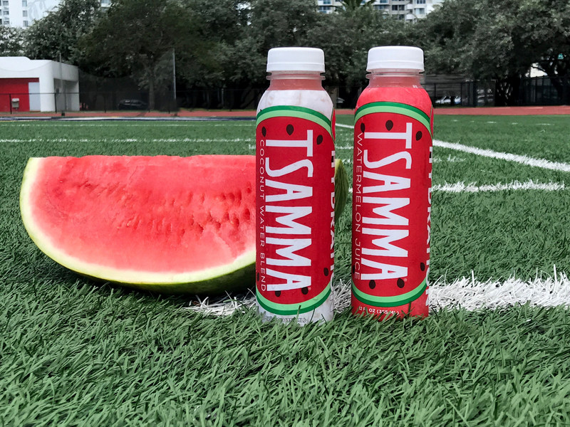 Tsamma Watermelon Juice, created by Frey Farms, is keeping the University of Alabama student-athletes hydrated and in top health with a unique partnership this fall by aligning with the University's sports marketing department.