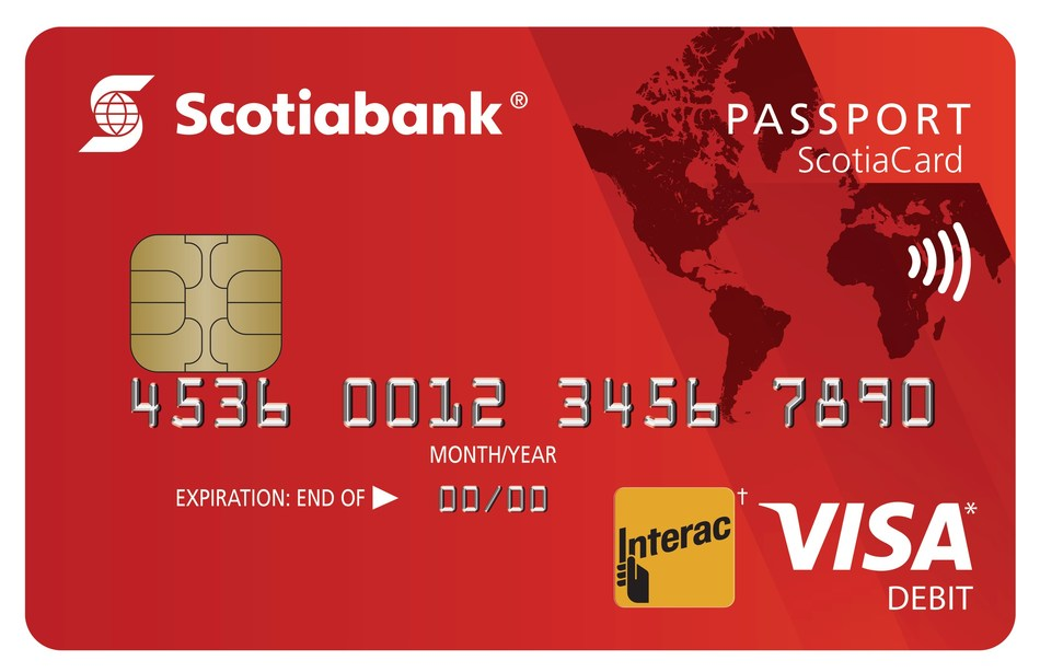 Scotiabank Passport ScotiaCard (CNW Group/Scotiabank)