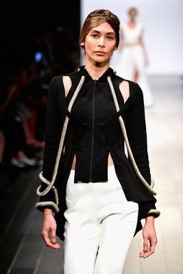 John Paul Ataker – desfile da coleção primavera verão 2018 na New York Fashion Week (PRNewsfoto/John Paul Ataker)