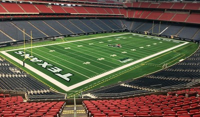 Hellas Construction's installed its Matrix Turf at NRG Stadium in Houston. Hellas Construction is now the Preferred Turf Provider of the Houston Texans.