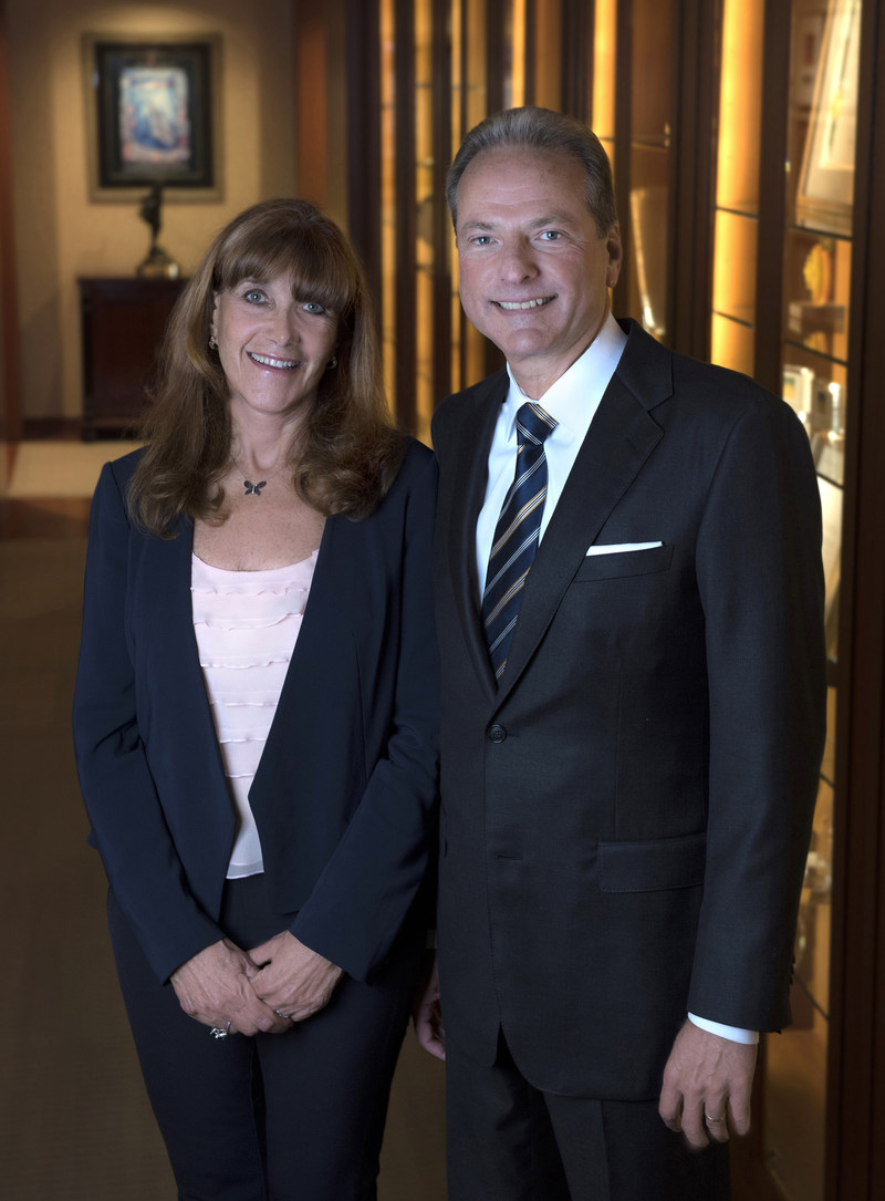 Longtime UCI supporters Susan and Henry Samueli received in 2000 the UCI Medal – the university's highest honor – for their exceptional contributions to the campus mission of teaching, research and public service. Steve Zylius / UCI