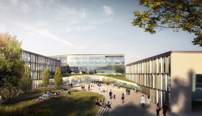 The Susan and Henry Samueli College of Health Sciences will include a new building housing state-of-the-art technology and labs – forming the foundation for a national showcase for integrative health. UCI