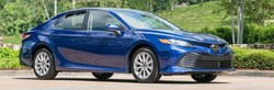 The 2018 Toyota Camry is on the ground and ready for sale at White River Toyota.