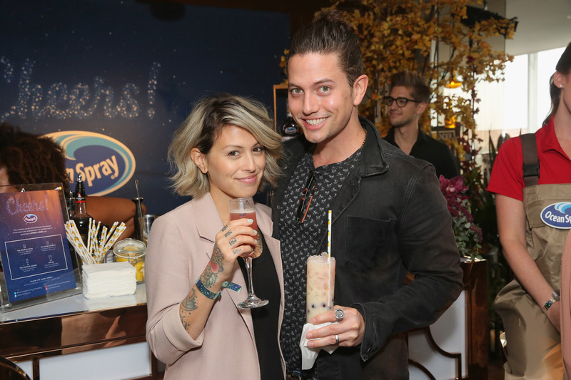 No fangs needed for Twilight actor Jackson Rathbone who toasted to the awards season with a Scene Stealer cranberry cocktail by Ocean Spray at the Kari Feinstein Style Lounge Thursday, Sept. 14 in Los Angeles.