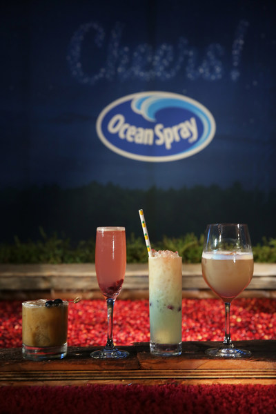 Ocean Spray's cranberry cocktails steal the scene as celebs gather to celebrate the National Television Awards at the Kari Feinstein Style Lounge in Los Angeles Sept. 14 and 15. (PRNewsfoto/Ocean Spray)
