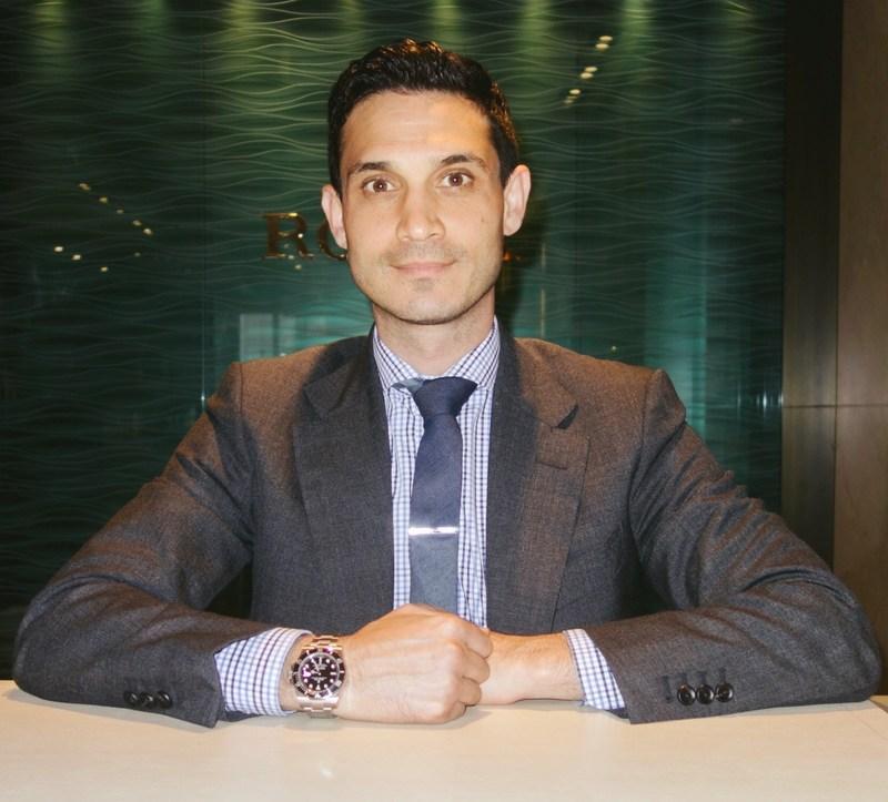 Claudio Terjanian, Govberg Jeweler's New Director of Retail