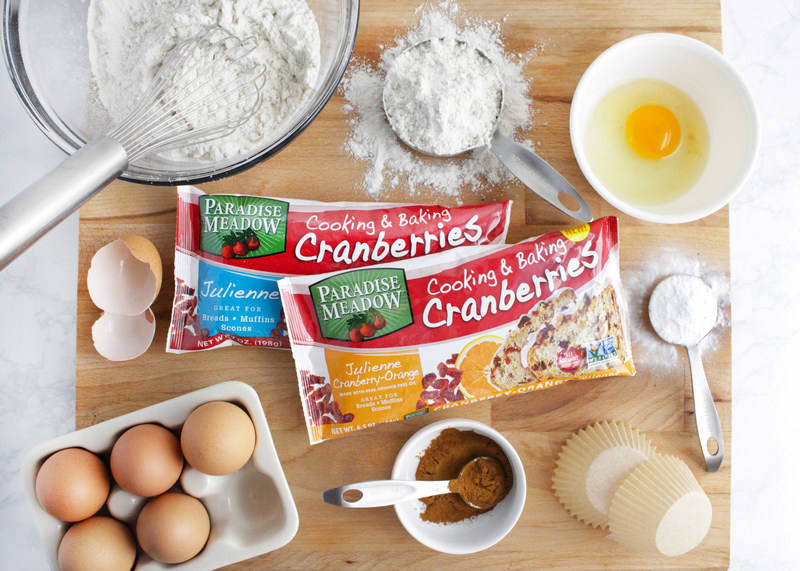 Paradise Meadow Julienne Cranberry-Orange Cooking & Baking Cranberries are the latest addition to Decas' line of easy-to-use cooking and baking products.