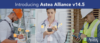 A best-in-class mobile experience unites devices, people, processes and information into one cohesive service platform in Astea Alliance 14.5.