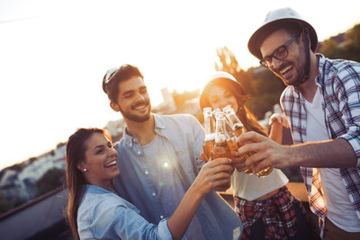 Higher percentage of Millennials serving as designated drivers while an aversion to social media shaming has a positive impact on Millennials choosing to drink less (CNW Group/Beer Canada)