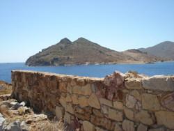 Tragonisi, the private island recently purchased by Italian billionaire Gio Monaldo.