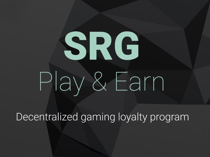 SRG Announces Token Sale for the First Decentralized Gaming Loyalty Program (PRNewsfoto/SRG)