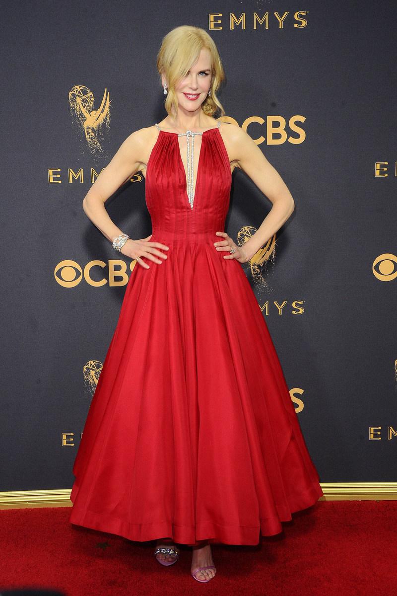 Nicole Kidman Wears Platinum Jewelry to the Emmys #BePlatinum