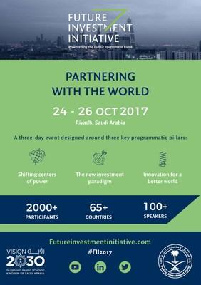 Saudi Arabia's Public Investment Fund Launches The Future Investment Initiative (PRNewsfoto/Future Investment Initiative)
