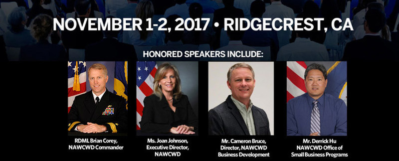 Speakers included leadership from U.S. Navy's Naval Air Warfare Weapons Division (NAWCWD)