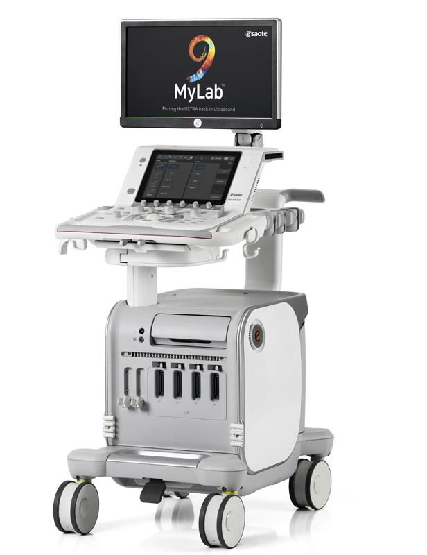 Esaote - MyLab(TM)9 ultrasound platform (PRNewsfoto/Esaote S.p.A.)