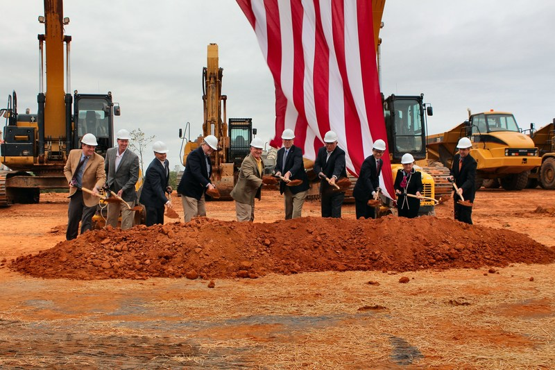 SouthPoint Mocksville NC Groundbreaking