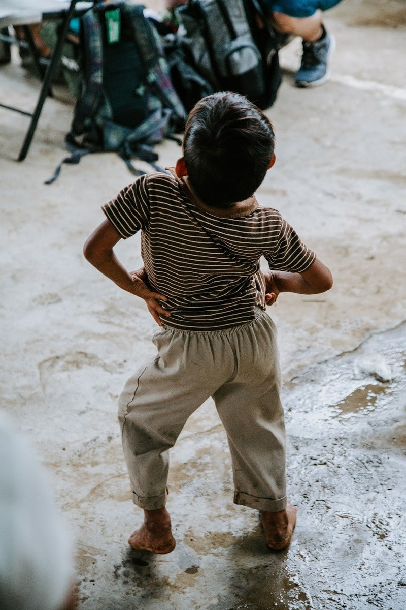 Dancing after a monsoon at Freedom Camp