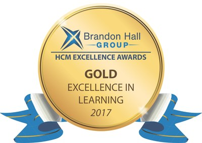 Brandon Hall Group Gold Excellence in Learning Award