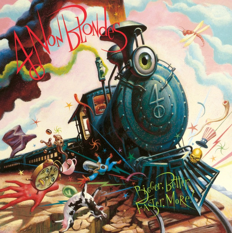 On October 13, UMe will celebrate the 25th anniversary of 4 NON BLONDES' Bigger, Better, Faster, More!'s release with a special vinyl edition of this classic LP, marking its first-ever American vinyl release.  In addition to its standard black-vinyl release, the anniversary LP will also be released in a limited Custom Opaque Green colored-vinyl edition that will be available exclusively through the online retailer uDiscover.