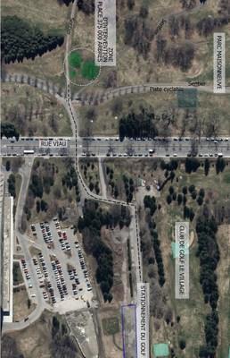Dévoilement de la Place 375 000 arbres au parc Maisonneuve, un legs vert et durable offert aux Montréalais (Groupe CNW/Ville de Montréal - Cabinet du maire et du comité exécutif)