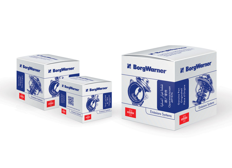 BorgWarner now sells its high-quality Wahler-branded aftermarket products in the new white and blue box design.