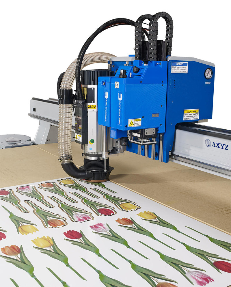 AXYZ International's Trident 4000 CNC Router