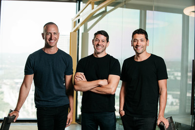 Left to right: Joshua Dziabiak (COO), Keith Melnick (CEO), Adam Lyons (Founder & Chairman) of The Zebra