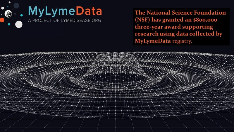 """""""The NSF grant will allow us to develop cutting-edge mathematical tools,"""" said Dr. Needell. """"Validation of these tools requires a large real-world database, and MyLymeData fits the bill perfectly."""""""