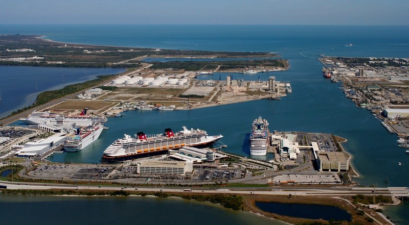 Canaveral Port Authority engaged long-time partner CH2M to design a new terminal to support its cruise business, which currently accounts for 80 percent of the Port's revenue.